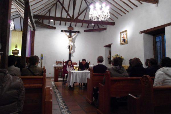 Encuentro con los jóvenes y familia idente de la parroquia de Las Aguas