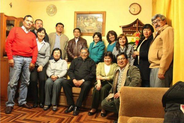 Reunión de la Familia Idente del Cuzco