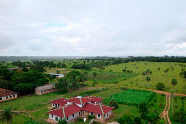 Vista aérea de la Ciudad Monástica
